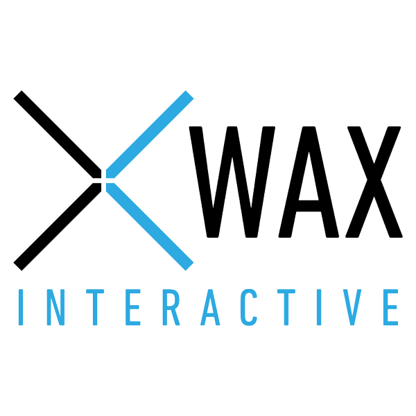 Logo de Wax interactive