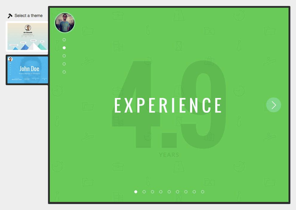un cv interactif gr u00e2ce  u00e0 linkedin et slideshare