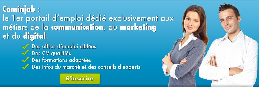 Cominjob le 1er portail d 39 emploi d di exclusivement aux - Cabinet de recrutement marketing digital ...